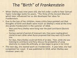 frankenstein or the modern prometheus ppt video online the birth of frankenstein