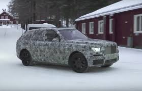 2018 rolls royce cullinan.  royce in prototype form the rollsroyce suv looks like a wagon version of  phantom thatu0027s also been raised up for more ground clearance on 2018 rolls royce cullinan