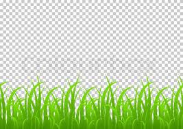 grass transparent background. Grass Seamless Border, Vector Illustration Isolated On Transparent  Background. Meadow, Greenery, Grass Field, Decoration Element For Registration And Background