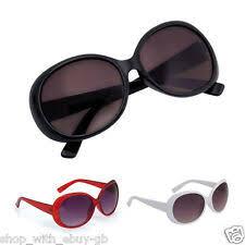 Plastic Frame <b>Oversized Sunglasses</b> for Women for sale | eBay