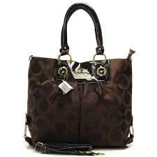 Coach Logo Monogram Large Coffee Totes BNH Outlet Clearance