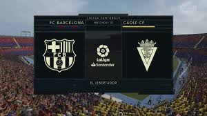 FIFA 21 Barcelona vs Cadiz Prediction @El Libertardor - YouTube