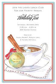 Christmas Tea Party Invitations Free Christmas Tea Party Invitations