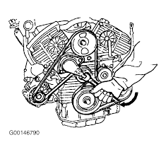 hyundai santa fe serpentine belt routing and timing belt diagrams serpentine and timing belt diagrams