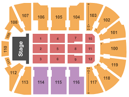 12 Exact Webster Arena Seating
