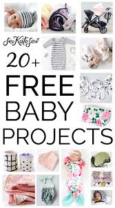 Free Sewing Patterns For Baby Stunning 48 FREE Baby Sewing Projects See Kate Sew
