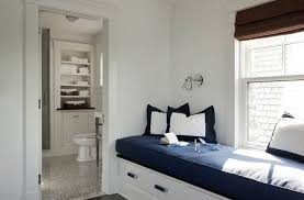 bedroom window seat cushions. Delighful Bedroom LDa Architects Nautical Feeling Window Seat With Builtin Drawers And Navy  Blue Pillowsseat Cushion Throughout Bedroom Window Seat Cushions
