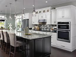 white caldera cabinets casual kitchen