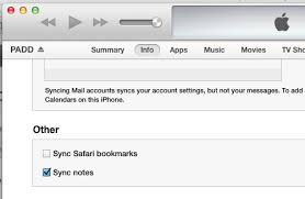 How To Move Notes From An Iphone To An Email Account Dafoster