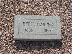 Effie Edna Garrett Harper (1885-1967) - Find A Grave Memorial