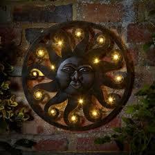 celestial sun wall decor on metal sun wall art uk with celestial sun led wall art