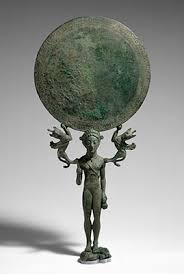 art and craft in archaic sparta essay heilbrunn timeline of bronze mirror a support in the form of a nude girl