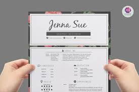 Trendy Resume Templates Modern Resume Template Resume Templates Creative Market 3