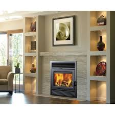 supreme fireplaces inc galaxy zero clearance semi classic wall mount fireplace insert reviews wayfair