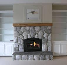 Remarkable Fieldstone Fireplace Surround Pics Ideas