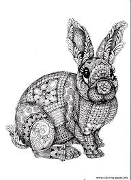 Coloring Pages For Adults Difficult Animals Only Coloring Pages