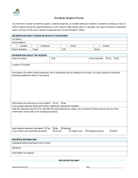 Report Form Medium To Large Size Of Sample Police Statement