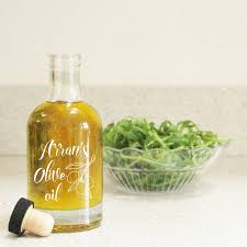 Olive Oil Decorative Bottles personalised olive oil glass bottle decanter by copper and sable 46