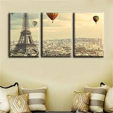 home office wall art. Christmas Decoration Wall Art Famous Paris Tower And Balloon Painting Print For Home Office Decor I