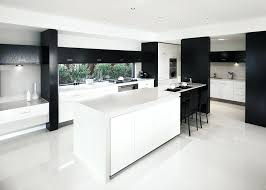 glossy white kitchen floor tiles to match gloss