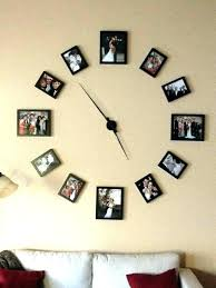 clocks for walls big lots wall clocks wall clock big flip white case black dial neon