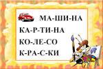Учимся читать по слогам складам склад му развивающие мультики для
