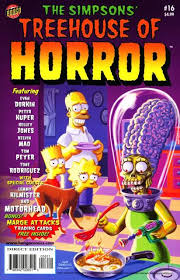 The Simpsons Treehouse Of Horror XIV  Intro 1989 Theme VHS Simpsons Treehouse Of Horror 14