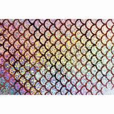 <b>Tigofly 6 pcs 10X21cm</b> Holographic Adhesive Film Flash Artificial ...
