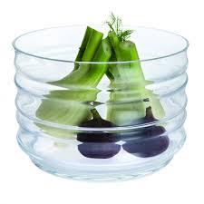 totem handmade deep glass bowl