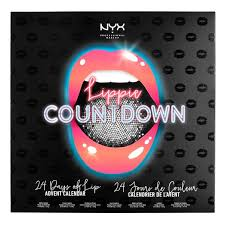 advent calander lippie countdown advent calendar nyx professional makeup
