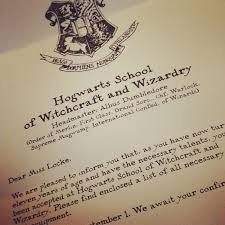 the third is the ministry of magic s explanation for why the letter arrived via muggle mail rather than an owl hogwarts
