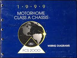 1999 ford f53 motorhome class a chassis wiring diagram manual