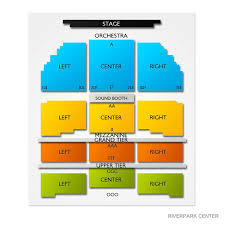 River Park Center Seating Chart Riverpark Center Tickets