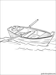 Kleurplaat Boot Gratis Kleurplaten