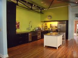 Kitchen Design Fresh Green Lime Color Scheme Wall Paint Bine Dark