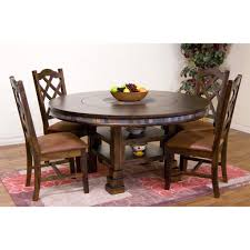 Sunny Designs Furniture Santa Fe Collection Sunny Designs Santa Fe Collection Five Piece Dining Set
