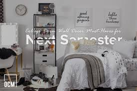 13 budget dorm room decorating ideas. College Dorm Wall Decor Must Haves For Next Semester