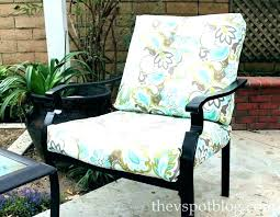 deep seating lounge chair cushion