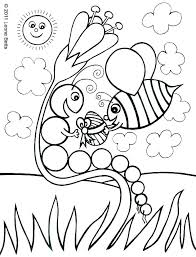 Very Hungry Caterpillar Coloring Pages Printables Coloring Pages