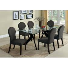espresso dining table set contemporary espresso dining table set 7pc espresso dining room kitchen set table