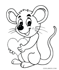 Printable Mouse Coloring Pages Opticanovosti 301965527d71
