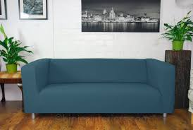 couch covers blue. Modren Couch Easy Fit Klippan Sofa Covers  Denim Blue In Couch