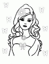 Free printable coloring pages for children that you can print out and color. Barbie Coloring Pages Free Free Coloring Pages Free Printable Coloring Home