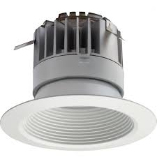 lithonia lighting 4 in white integrated led recessed baffle kit 5