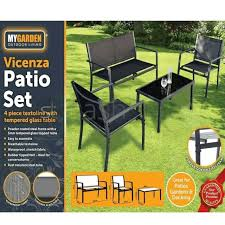 patio furniture set coffee table chairs