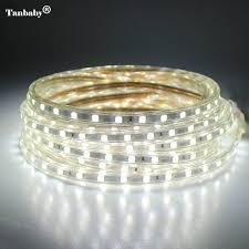 LED Strip IP67 Waterproof <b>SMD 5050 AC220V led</b> strip flexible light ...