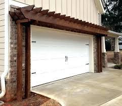 pergola over garage door 4 build trellis how to a perg