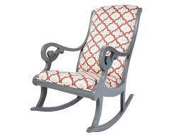 how to reupholstered rocking chair