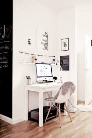 small white corner office. Perfect Corner Office Space For A Small Apartment White R