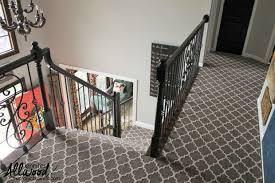 Patterned Stair Carpet Extraordinary Patterned Stair Carpet